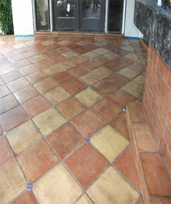 Mexican Tile Cleaning And Sealing Saltillo Tile