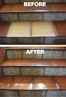 mexican tile and saltillo tile repair and replace