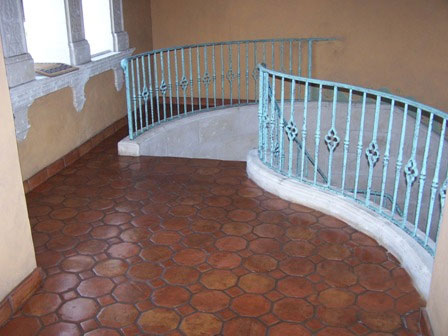 mexican tile and saltillo tile staining