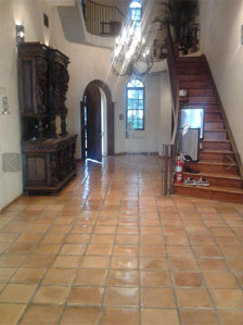 Mexican Tile And Saltillo Staining